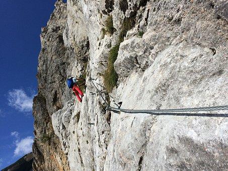 Austria, Mountains, Ferrata, Nature, Hollental