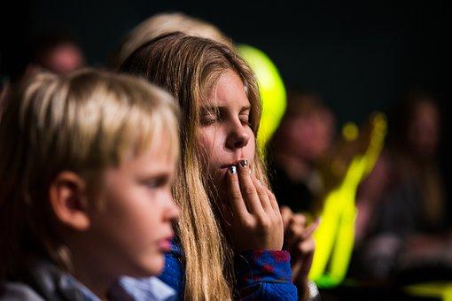 Kids, Emotions, Face, Portrait, Hand, Childhood