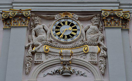 Clock, Town Hall Clock, Clock Tower, Bonn, Historically