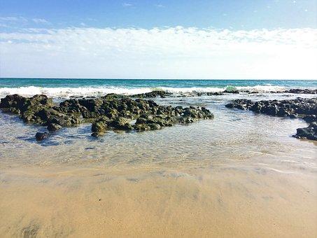 Costa Calma, Sun, Fuerteventura, Travel, Sand, Sea