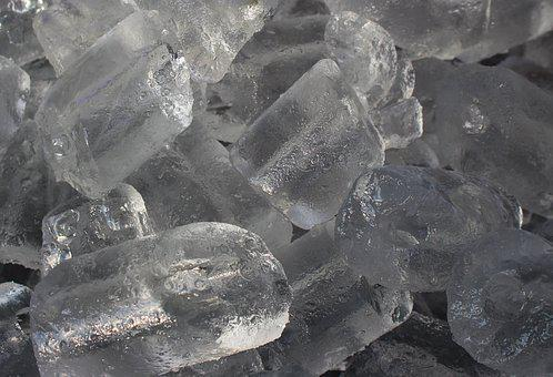 Ice, Cubes, Cold, Water, Drink, Cool, Liquid