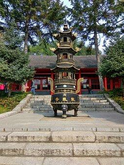 Jilin, Longtan Mountain, Dragon Temple, China