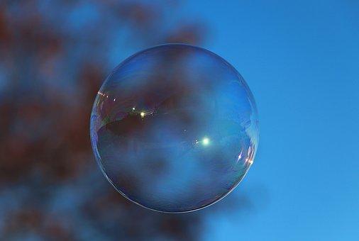 Soap Bubble, Colorful, Mirroring, Float, Balls