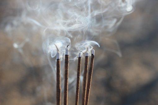 Smoke, Blow, Incense, Sticks