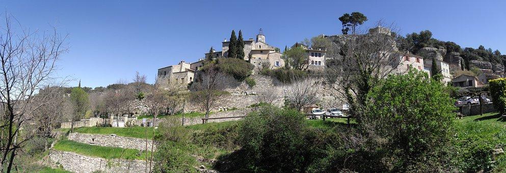 Village Beaucet, Provence, Landscape