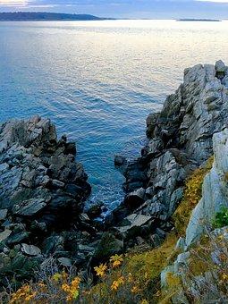 Cape Elizabeth, Lighthouse, Maine, Elizabeth, Ocean