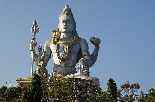 Shiva, Lord, Statue, Hindu, God, Religion, Hinduism