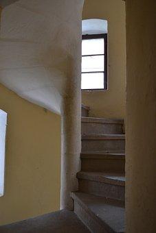 Stairs, Monastery, Henryków