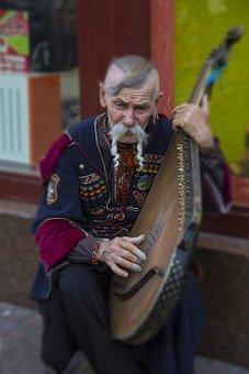 Ukraine, Bandura, Music, Instrument, Ukrainian, Musical