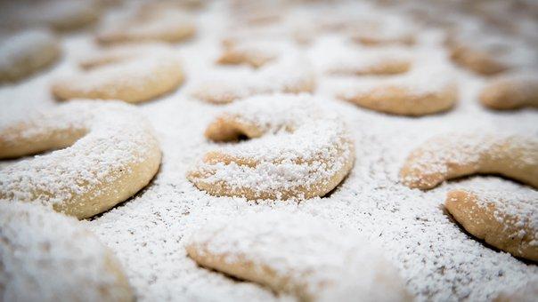 Vanillekipferl, Crescents, Croissant, Cookie
