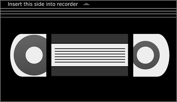 Vhs, Cassette, Tape, Video, Videocassette, Videotape