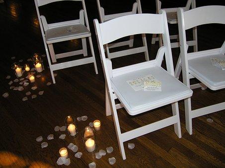 Ceremony, Wedding, Chairs, Decoration, Invitation