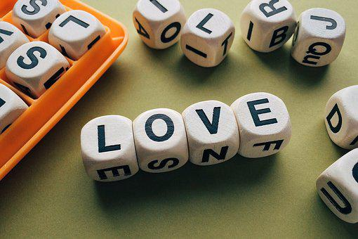 Love, Word, Letters, Boggle, Game