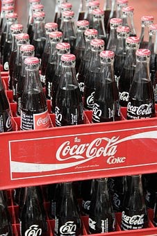 Bangkok, Thailand, Chinatown, Coca Cola, Bottles