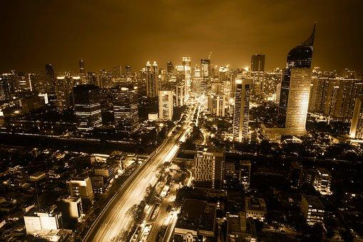 Jakarta, Indonesia, City, Urban, Cityscape, Downtown