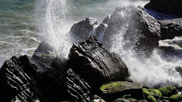Ocean, Crash, Wave, Water, Nature, Sea, Coast, Beach