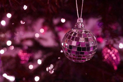 Ball, Christmas Ornament, Disco Ball