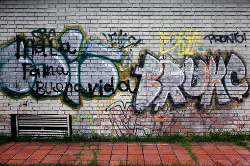 Street, Graffitti, Urban, Modern, Wall, Grunge, Style