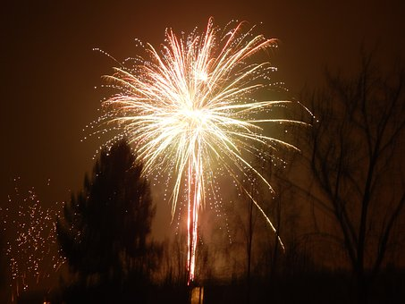 New Year's Eve 2016, New Year 2017, Fireworks