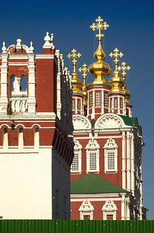 Moscow, Novodevichy, Orthodox Convent