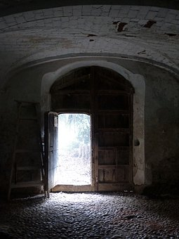 Input, Open, Exit, Mansion, Old, Sinister