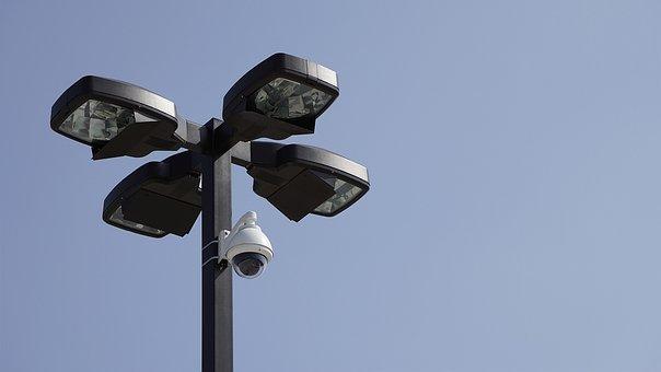 Camera, Parking Lot, Surveillance, Car, Park, City
