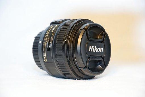 Lens, Photo, Nikon, Camera, A Fixed 50 Mm