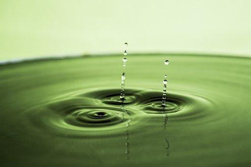Water, Water Drop, Silver, Liquid, Reflection, Ripple