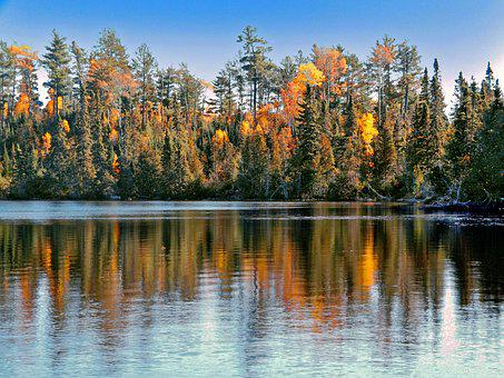Reflection, Autumn, Lake, Nature, Fall, Landscape