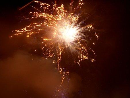 Fireworks, Rocket, New Year's Eve, Fireworks Rocket
