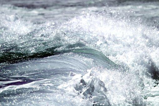 Wave, Ocean, Sea, Inject, Coast, Spray, Beach, Water