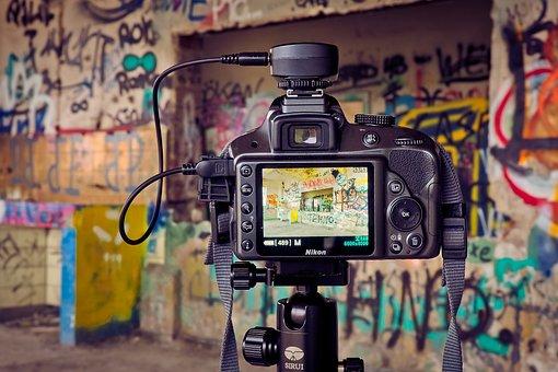 Lost Places, Camera, Photo Camera, Nikon, Recording