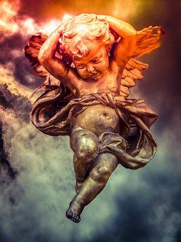 Cherub, Fantasy, Seraphim, Cherubim, Flying, Celestial