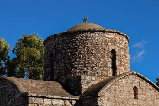 Cyprus, Sotira, Church, Abbey, Orthodox, Architecture