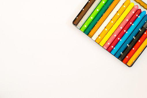 Crayon, Colorful, Creativity, Background, Color, Pens