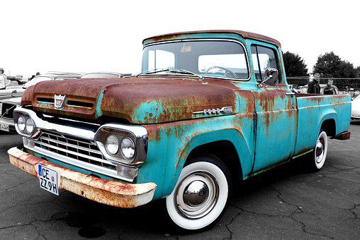 Ford, F100, Ford F100, Oldtimer, Retro, Vintage