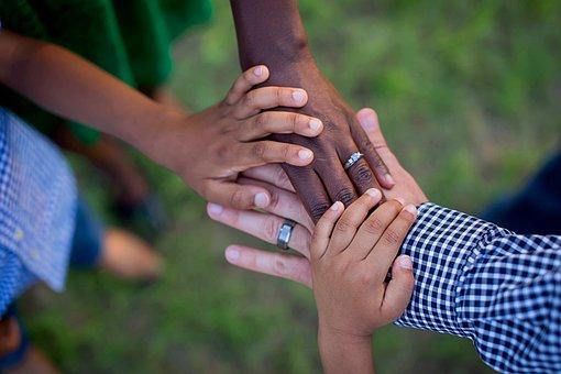 Hands, Life, Together, Family, Team, Teamwork