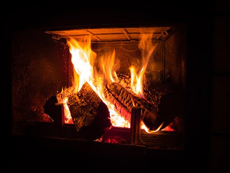 Fireplace, Fire, Heat, Wood, The Flame, Censer, Burn
