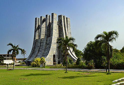 Accra, Ghana, West Africa, Africa, Monument