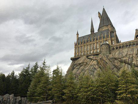 Hogwart, Universal Studios, Castle, Harry Potter
