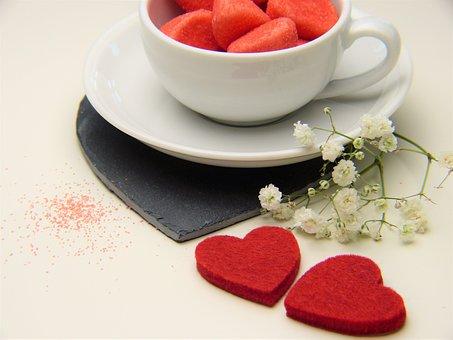 Heart, Red, Love, Valentine's Day, Romance, Stone