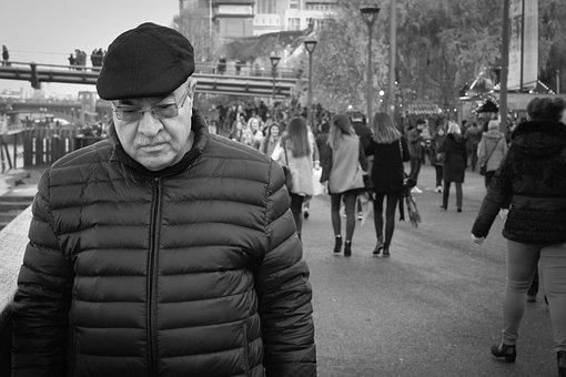 London, Street, Man, City, Male, England, Travel