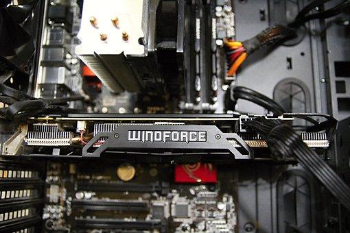 Computer, Gygabite, Cpu, Motherboard, Cooler, Mb