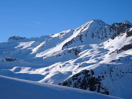 Alps, Landscape, Mountain, Snow, Valfréjus