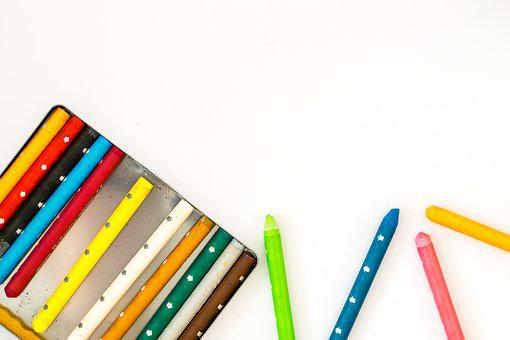 Crayon, Colorful, Creativity, Background, Color, Pens