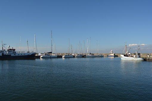 Thyborøn, Denmark, Harbor