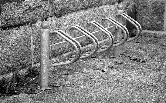 Bikes, Two Wheels, Bicycle, Urban, Parking, Transport