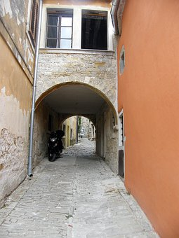 Alley, Home, Old, Croatia, Gorenj, Window