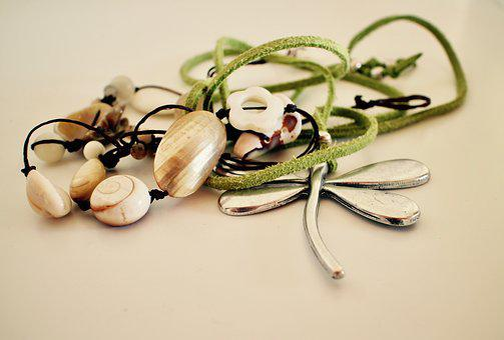 Necklace, Bijoux, Beads, Pearls, Fashion Jewellery