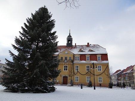 Town Hall, Building, Architecture, Bad Liebenwerda